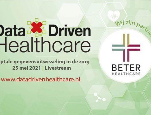 BETER HEALTHCARE NEEMT DEEL AAN HET DATA DRIVEN HEALTHCARE CONGRES OP 25 MEI 2021